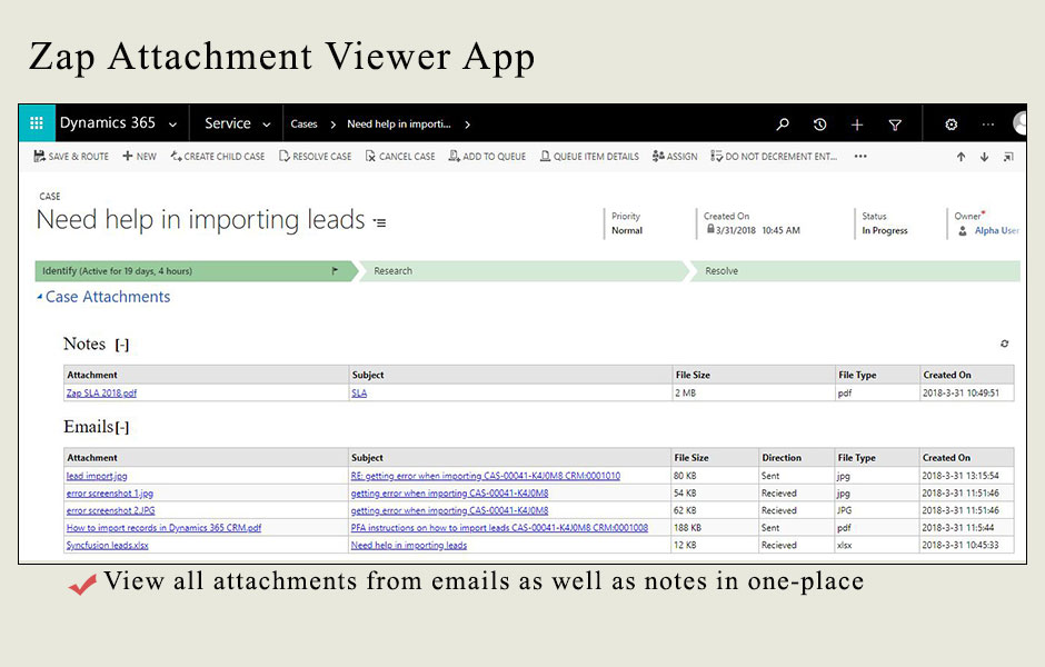 Getting Started - How to use Zap Attachment Viewer App? - Zap Objects
